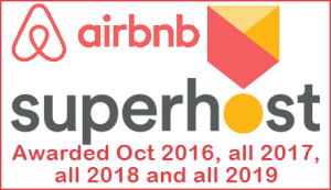 Airbnb Superhost Award 2019